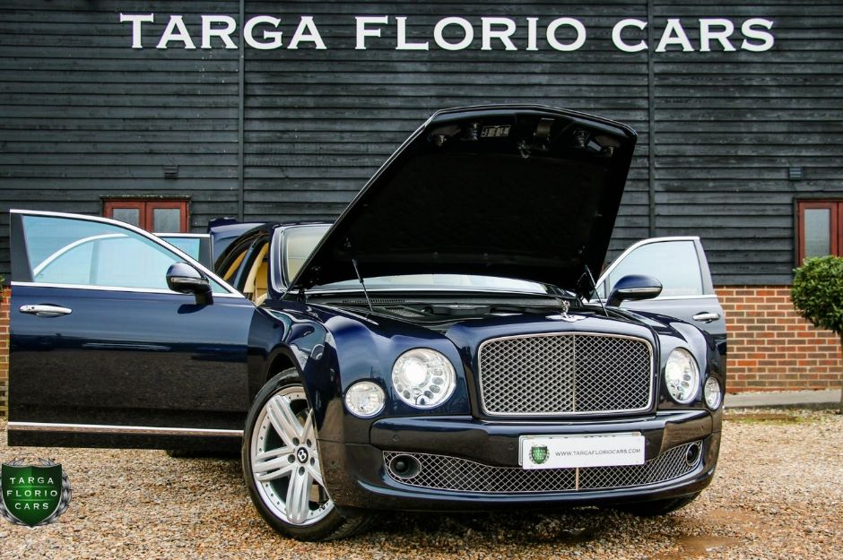 BENTLEY MULSANNE V8 AUTO