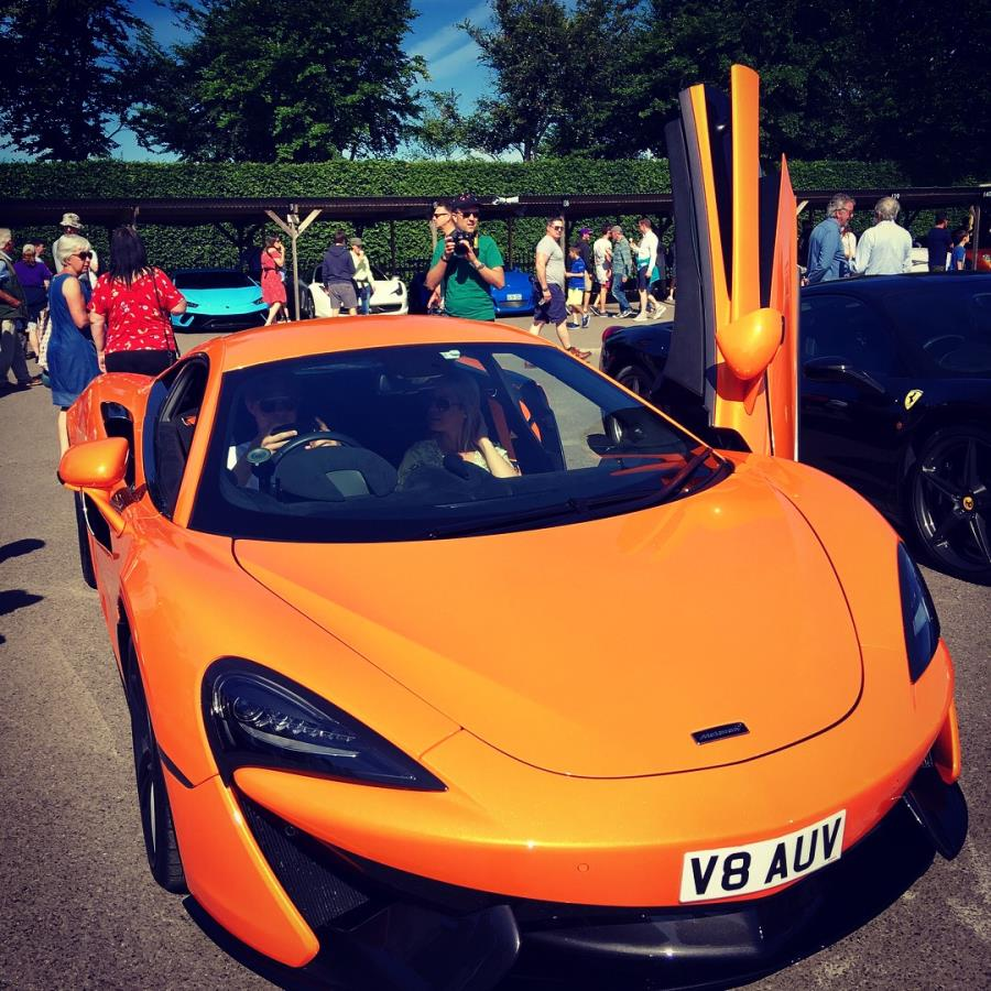 Goodwood basks in supercar sunshine
