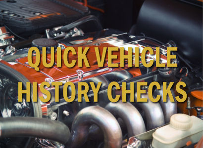 Vehicle Histroy Checks